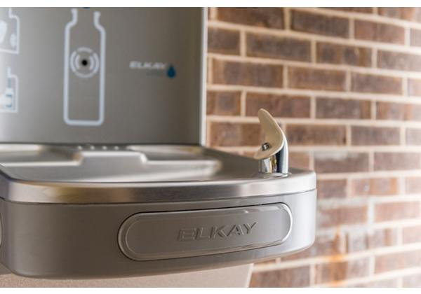 Image for Elkay EZH2O Bottle Filling Station & Single ADA Cooler, High Efficiency Filtered 8 GPH Light Gray from Elkay Latin America