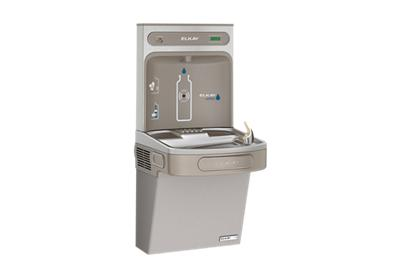 Image for Elkay EZH2O Bottle Filling Station & Single ADA Cooler, High Efficiency Filtered 8 GPH Light Gray from ELKAY