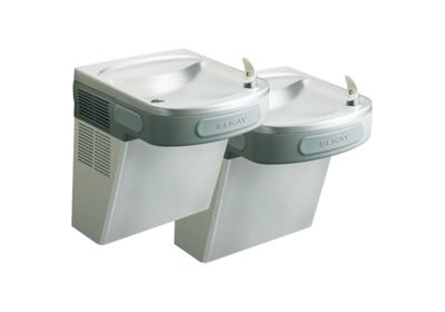 Image for Elkay Versatile Cooler Wall Mount Bi-Level ADA w/VandalResist, Bubbler Filtered 8 GPH Stainless from ELKAY
