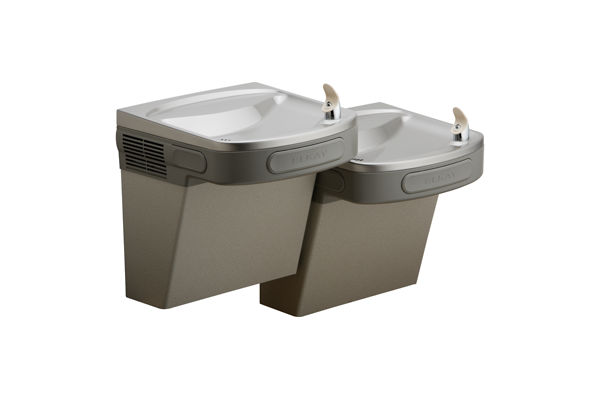Versatile Filtered Wall Mount Bi-Level Green ADA Cooler