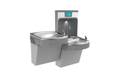 Image for Elkay Enhanced EZH2O Bottle Filling Station, & Versatile Bi-Level ADA Cooler, Filtered 8 GPH Light Gray from ELKAY