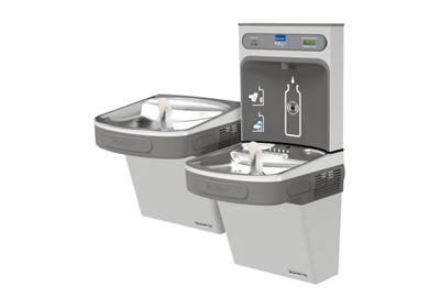 Image for Elkay EZH2O Bottle Filling Station with Versatile Bi-Level ADA, Cooler Filtered 8 GPH Stainless 220V from ELKAY
