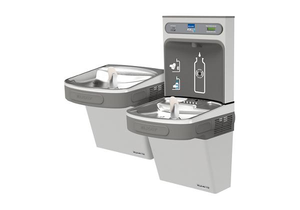 Image for Elkay EZH2O Bottle Filling Station with Versatile Bi-Level ADA, Cooler Filtered 8 GPH Stainless 220V from Elkay Middle East