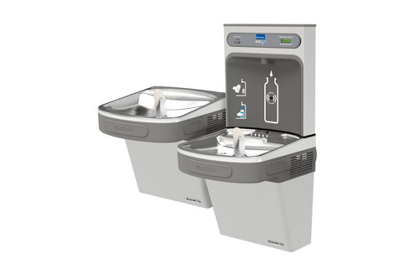 Filtered EZH2O® Bottle Filling Station with Bi-Level ADA Cooler *Only available for Saudi Arabia.