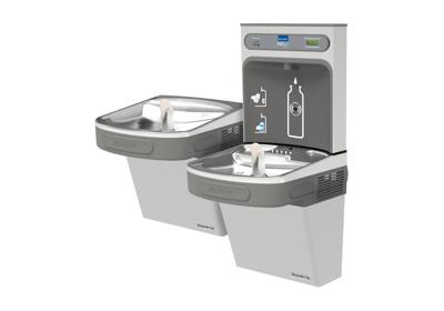 Image for Elkay EZH2O Bottle Filling Station with Bi-Level ADA Cooler, Filtered 8 GPH Stainless 220V *Only available for Saudi Arabia from ELKAY