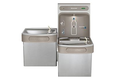 Image for Elkay EZH2O Bottle Filling Station with, Versatile Bi-Level ADA Cooler, Filtered Non-Refrigerated Stainless from ELKAY