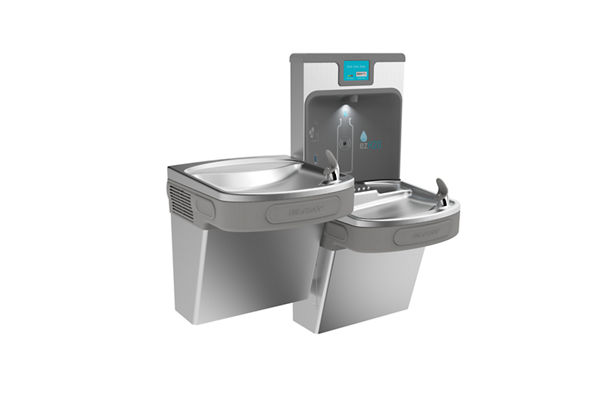 Elkay Enhanced EZH2O Bottle Filling Station with Bi-level ADA, Cooler Filtered 8 GPH Stainless