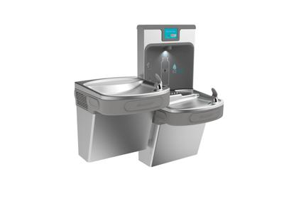 Image for Elkay Enhanced EZH2O Bottle Filling Station, & Versatile Bi-Level ADA Cooler, Filtered 8 GPH Stainless from ELKAY