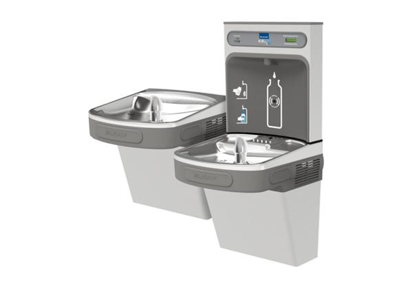 Image for Elkay EZH2O Bottle Filling Station with Versatile Bi-Level ADA, Cooler Filtered 8 GPH Stainless 220V from Elkay Latin America
