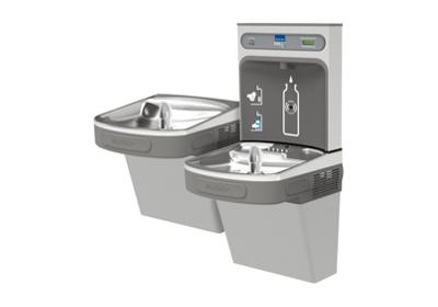 Image for Elkay EZH2O Bottle Filling Station with, Versatile Bi-Level ADA Cooler, Filtered Non-Refrigerated Light Gray from ELKAY