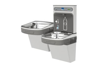 Image for Elkay EZH2O Bottle Filling Station with Versatile Bi-Level ADA Cooler, Filtered, Non-refrigerated, Stainless from ELKAY