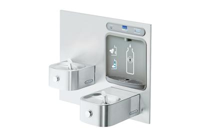 Image for Elkay EZH2O Bottle Filling Station with Integral Soft Sides Fountain, Filtered Non-Refrigerated Stainless from ELKAY