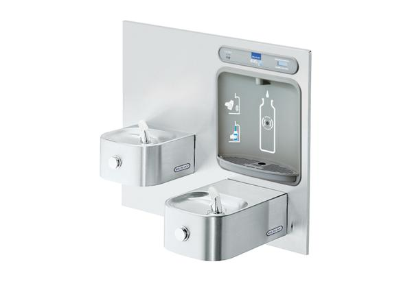 Image for Elkay EZH2O Bottle Filling Station with Integral Soft Sides Fountain, Filtered Non-Refrigerated Stainless from Elkay Latin America