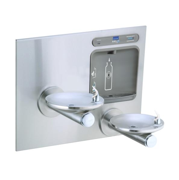 image for elkay ezh2o bottle filling station with integral swirlflo fountain filtered