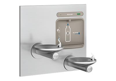Image for Elkay EZH2O Bottle Filling Station with Integral SwirlFlo Fountain, Filtered Non-Refrigerated Stainless from ELKAY