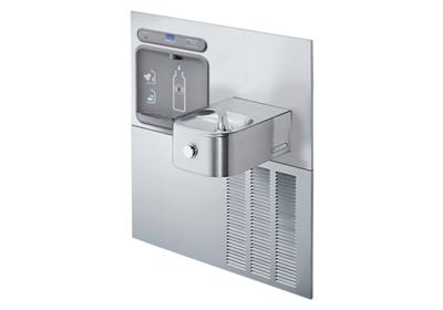 Image for Elkay EZH2O Retrofit Bottle Filling Station with Soft Sides Fountain, Filtered 8 GPH Stainless from ELKAY