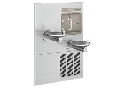 Image for Elkay EZH2O Bottle Filling Station with Integral SwirlFlo Fountain, Refrigerated Filtered Stainless from ELKAY