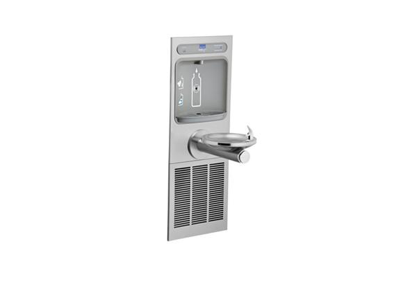 Image for Elkay EZH2O Bottle Filling Station with Integral SwirlFlo Fountain, Refrigerated Filtered Stainless from Elkay Latin America
