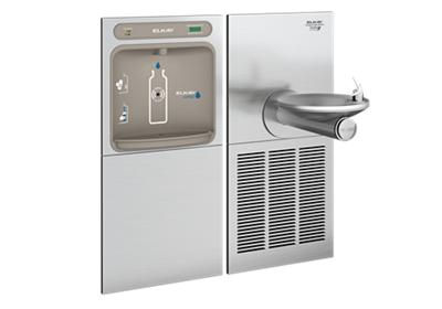 Image for Elkay EZH2O Bottle Filling Station & SwirlFlo Single Fountain, High Efficiency Filtered 8 GPH Stainless from ELKAY