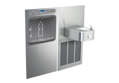 Image for Elkay EZH2O Bottle Filling Station with SoftSides Single, Fountain Filtered 8 GPH Stainless from ELKAY