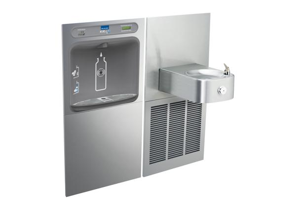 Image for Elkay EZH2O Bottle Filling Station & Soft Sides Single Fountain, Filtered 8 GPH Stainless from Elkay Latin America