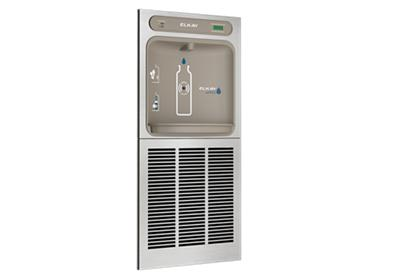 Image for Elkay EZH2O In-Wall Bottle Filling Station, High Efficiency Filtered 8 GPH Stainless from ELKAY