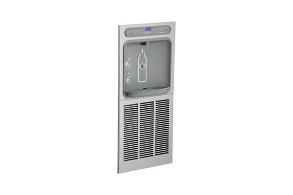 Elkay EZH2O Bottle Filling Station In-Wall Filtered 8 GPH, Stainless 220V
