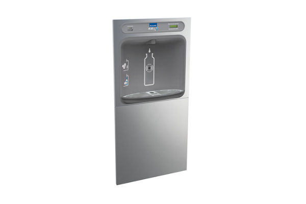 Elkay EZH2O Bottle Filling Station In-Wall Filtered, Non-Refrigerated Stainless 220V