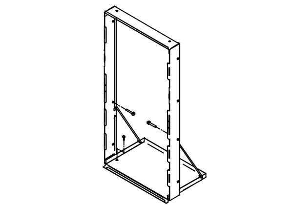 Image for Accessory - Mounting Frame for in-wall ezH2O models from Elkay Latin America