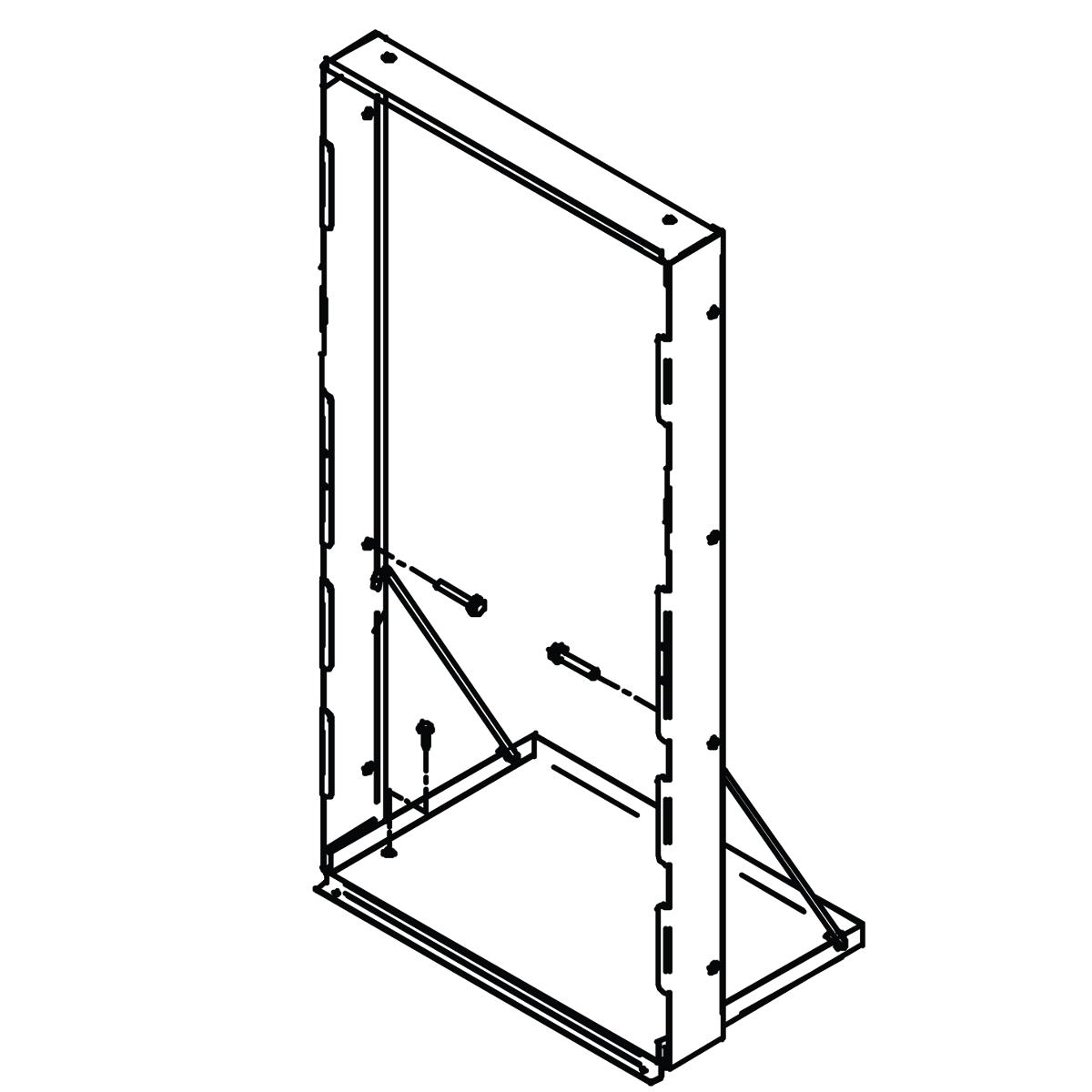 Elkay  Accessory - Mounting Frame For In-wall Ezh2o Models 1697205