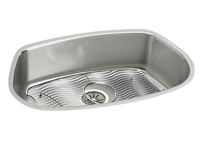 "Image for Elkay Stainless Steel 31"" x 19-5/8"" x 8"", Single Bowl Undermount Sink Kit from ELKAY"