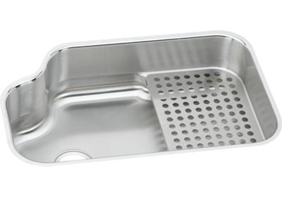 "Image for Elkay Lustertone Stainless Steel 32"" x 21"" x 8"", Single Bowl Undermount Sink Kit from ELKAY"