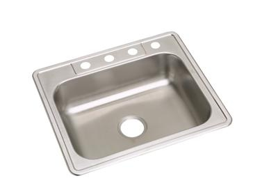 "Image for Elkay Neptune Stainless Steel 25"" x 22"" x 6-1/16"", Single Bowl Drop-in Sink from ELKAY"