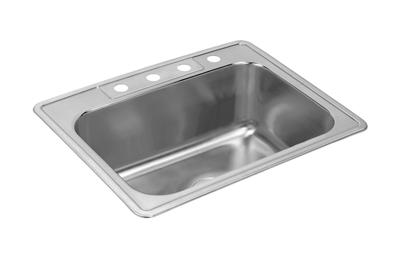 "Image for Elkay Neptune Stainless Steel 33"" x 22"" x 10-1/8"", Single Bowl Top Mount Sink from ELKAY"