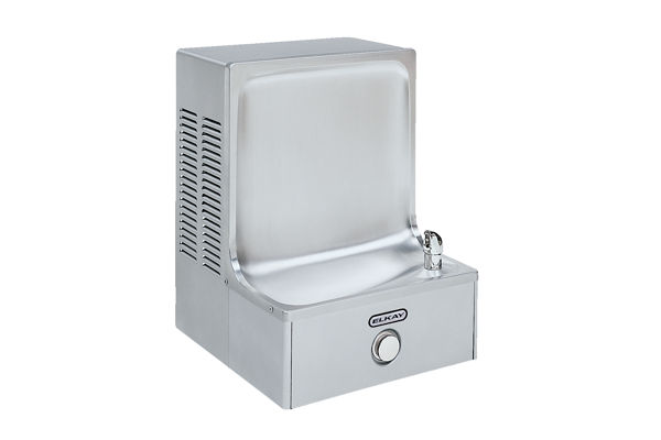 Elkay Cooler Wall Mount ADA Vandal-Resistant Non-Filtered, 8 GPH Stainless