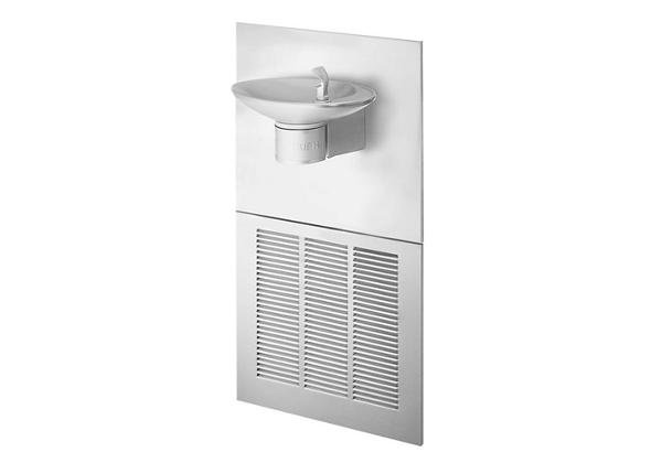 Image for Halsey Taylor Contour Fountain, Non-Filtered 8 GPH Stainless from Halsey Taylor