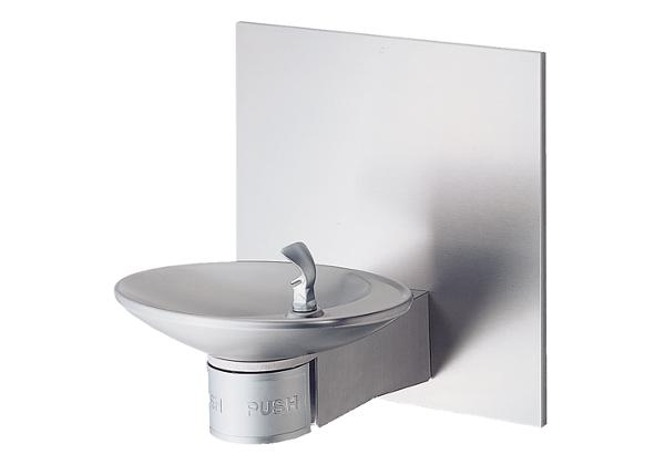 Image for Halsey Taylor OVL-II Single Wall Mount Fountain, Non-Filtered Non-Refrigerated Stainless from Halsey Taylor