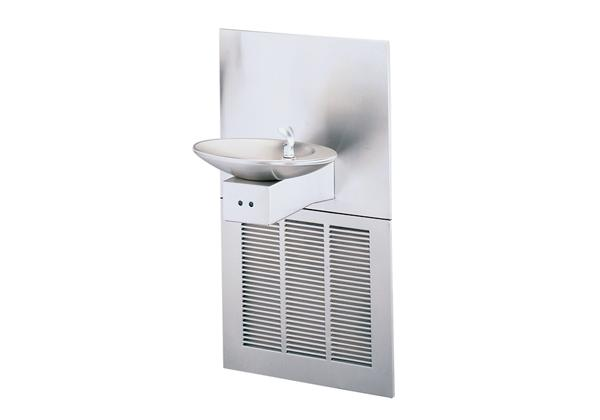 Image for Halsey Taylor OVL-II Fountain, Hands-Free, Non-Filtered, 8 GPH, Stainless from Halsey Taylor