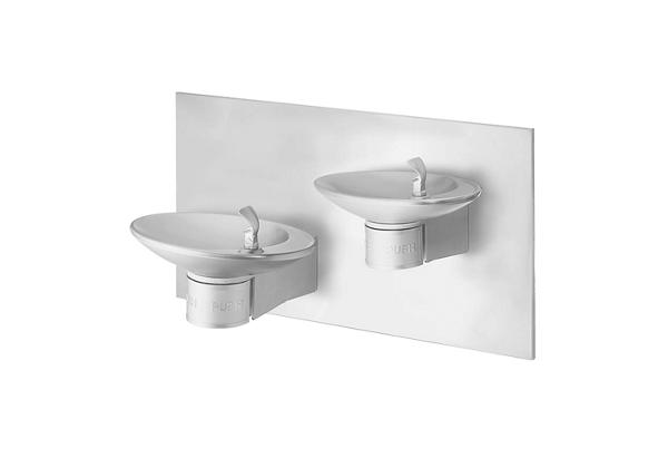 Image for Halsey Taylor OVL-II Bi-Level Fountain, Wall Mount, Non-Filtered, Non-Refrigerated, Stainless from Halsey Taylor