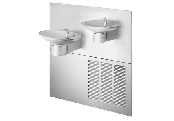 Image for Halsey Taylor OVL-II Fountain, Bi-Level Reverse, Non-Filtered, 8 GPH, Stainless from Halsey Taylor