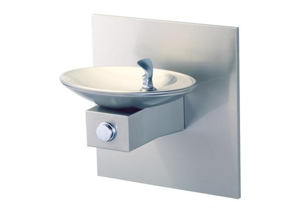 Image for Halsey Taylor OVL-II Single Fountain, Non-Filtered Non-Refrigerated Freeze Resistant Stainless from Halsey Taylor