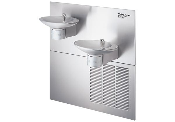 Image for Halsey Taylor OVL-II Fountain, Bi-Level, GreenSpec, Filtered, 8 GPH, Stainless from Halsey Taylor