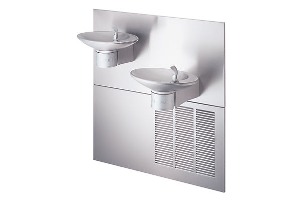 Halsey Taylor OVL-II Bi-Level Fountain, Non-Filtered 8 GPH Stainless
