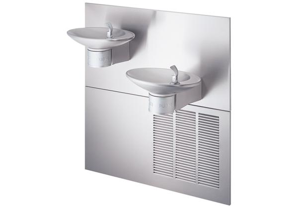Image for Halsey Taylor OVL-II Fountain, Bi-Level, Non-Filtered, 8 GPH, Stainless from Halsey Taylor