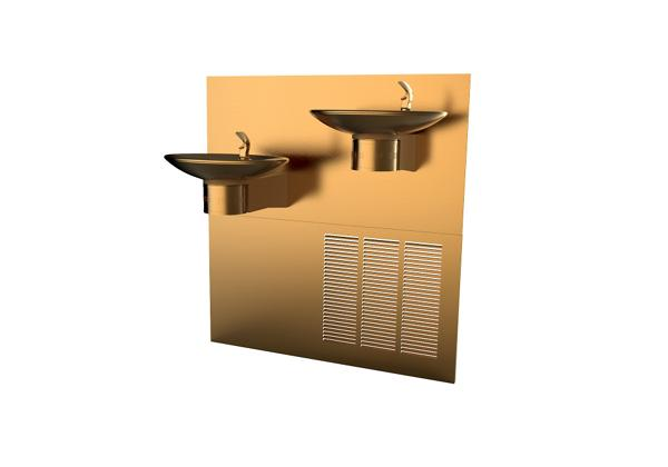 Image for Halsey Taylor OVL-II Fountain, Bi-Level Reverse, Non-Filtered, 8 GPH, Aztec Gold from Halsey Taylor