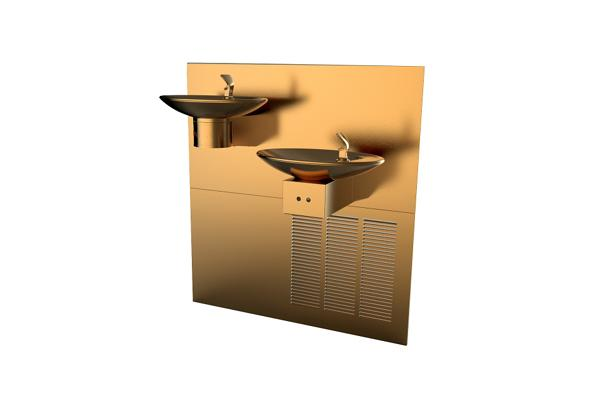 Image for Halsey Taylor OVL-II Fountain, Bi-Level, Hands-Free, Non-Filtered, 8 GPH, Aztec Gold from Halsey Taylor