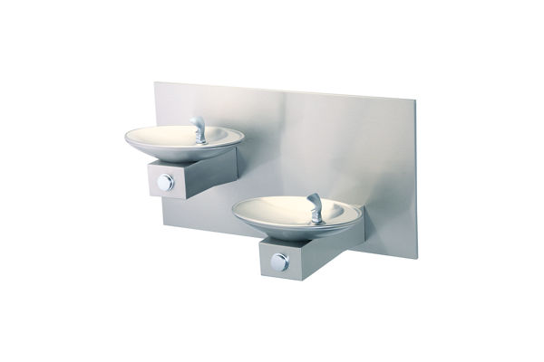halsey taylor ovlii bilevel fountain wall mount nonfiltered