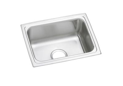 "Image for Elkay Pacemaker Stainless Steel 25"" x 19-1/2"" x 7-1/4"", Single Bowl Top Mount Sink from ELKAY"