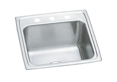 "Image for Elkay Pursuit Stainless Steel 19-1/2"" x 19"" x 10-3/16"", Single Bowl Top Mount Laundry Sink from ELKAY"