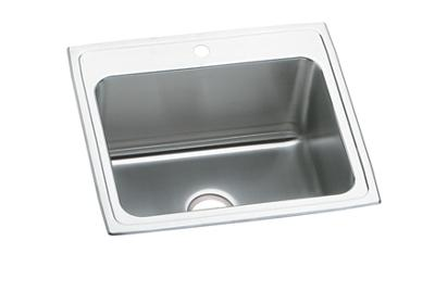 "Image for Elkay Pursuit Stainless Steel 25"" x 22"" x 12-1/8"", Single Bowl Top Mount Laundry Sink from ELKAY"